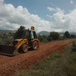 Έργα για την βελτίωση του δρόμου Ανατολικού – εκκλησάκι Αγίων Αποστόλων (περιοχή πατάτες)