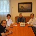 Συνάντηση του Γ.Γ. του Υπουργείου Γ. Αγγελόπουλου για τις δυνατότητες συνεργείων Πανεπιστημίου και ΤΕΙ Δυτικής Μακεδονίας (Φωτογραφία)