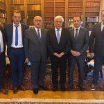 Συνάντηση αντιπροσωπείας της Ελληνικής Ομοσπονδίας Γούνας με τον Πρόεδρο της Δημοκρατίας
