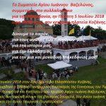 Το ΣωματείοΑγίου Ιωάννου Βαζελώνος,συμμετέχειστο συλλαλητήριογια την Μακεδονία,στην κεντρική πλατεία Κοζάνης
