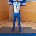 Πυγμαχία: Ο συντοπίτης μας, από την Κοζάνη, Πολυνείκης Καλαμάρας, για την κατάκτηση του χάλκινου μεταλλίου στην κατηγορία των 81kg, στους 18ους Μεσογειακούς Αγώνες στην Ταραγόνα της Ισπανίας
