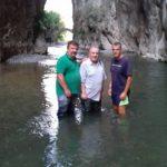 Επίσκεψη του Αντιπεριφερειάρχη Παιδείας Πολιτισμού & Αθλητισμού Δυτικής Μακεδονίας  Αντώνη  Δασκαλόπουλου στο φαράγγι του Σπηλαίου  Γρεβενών