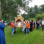 Πλήθος κόσμου στο 35o ετήσιο προσκύνημα της Παναγίας Σουμελά στη Ν.Ι. (Bίντεο & Φωτογραφίες)
