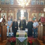 Ο πρωτοψάλτης της Αρχιεπισκοπής Αμερικής Γεώργιος Παπαβασιλείου στα αναλόγια των Ενοριών Κοιμήσεως της Θεοτόκου και Αγίου Διονυσίου Βελβεντού (Φωτογραφίες)