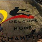 Αποθεωτική υποδοχή ετοιμάζουν στον πρωταθλητή Ευρώπης Μίλτο Τεντόγλου στα Γρεβενά – Δείτε το graffiti που έφτιαξαν