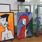 Έκθεση ζωγραφικής και καλλιτεχνίας από τοπικούς καλλιτέχνες στο ιστορικό Τραμπάντζειο Γυμνάσιο Σιάτιστας  (Φωτογραφίες)