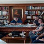 Το Σωματείο Εργαζομένων Τηλεθέρμανσης Πτολεμαίδας πραγματοποίησε συνάντηση με τον Αντιπεριφερειάρχη Κοζάνης κ. Παναγιώτη Πλακεντά