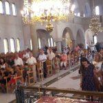 Κατάμεστος ο Ναός Κοιμήσεως της Θεοτόκου Νικήτης από την αθρόα προσέλευση των Κοζανιτών (Φωτογραφίες)