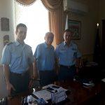 Εθιμοτυπική επίσκεψη Γενικού Περιφερειακού Αστυνομικού Διευθυντή Δυτικής Μακεδονίας στον Δήμαρχο Βοΐου (Φωτογραφία)