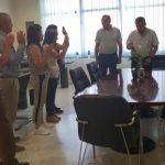 Τελετή ορκωμοσίας 5 ατόμων που απέκτησαν την ελληνική ιθαγένεια με πολιτογράφηση, πραγματοποιήθηκε σήμερα Παρασκευή 31/8, στην Κοζάνη