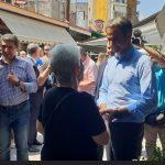"""Μητσοτάκης από τα Γρεβενά: """"Η κυβέρνηση επενδύει στην πόλωση και το διχασμό. Εγώ μιλώ για το αύριο της Ελλάδας"""" (Φωτογραφίες)"""