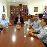 Επίσκεψη του Προεδρείου του Περιφερειακού ΙΝΕ ΓΣΕΕ  στον Περιφερειάρχη Θ. Καρυπίδη (Βίντεο)