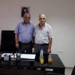 Τον Πρόεδρο της Ευξείνου Λέσχης Κοζάνης επισκέφθηκε o πρώην Πρόεδρος της Ευξείνου Λέσχης Θεσσαλονίκης Γιάννης Αποστολίδης (Φωτογραφίες)