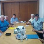 Η Συντονιστική Επιτροπή Αγώνα Κοζάνης μαζί με εκπροσώπους των Ομοσπονδιών Ι.Κ.Α και Ο.Α.Ε.Ε. συναντήθηκαν με τον  Υπουργό Υγείας κ. ΞΑΝΘΟ