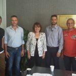 Σειρά συναντήσεων με φορείς και συλλόγους είχε σήμερα στο πολιτικό της γραφείο στην Καστοριά η Υφυπουργός Αγροτικής Ανάπτυξης και Τροφίμων, Ολυμπία Τελιγιορίδου