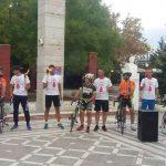 kozan.gr: H υποδοχή της φλόγας της 16ης Πανελλήνιας Λαμπαδηδρομίας Συλλόγων Εθελοντών Αιμοδοτών και της Ποδηλατοδρομίας για Εθελοντική Αιμοδοσία, στην κεντρική πλατεία Πτολεμαΐδας, το απόγευμα της Πέμπτης 13/9  (Βίντεο & Φωτογραφίες)