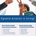 Η Egnatia Aviation ζητά προσωπικό στην Κοζάνη. Μέχρι τις 21 Σεπτεμβρίου οι αιτήσεις