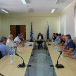 Ευρεία σύσκεψη με θέμα τις μετεγκαταστάσεις των οικισμών Ποντοκώμης, Μαυροπηγής, Ακρινής και Αναργύρων καθώς και άλλα θέματα, πραγματοποιήθηκε την Παρασκευή 7/9
