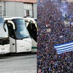 Το kozan.gr παρουσιάζει πόσα λεωφορεία, από ποιους δήμους και με τι συνολικό κόστος, μέχρι στιγμής, έχουν μισθωθεί, μέσω της πρωτοβουλίας της ΠΕΔ Δ. Μακεδονίας, για δωρεάν μεταφορά πολιτών στο συλλαλητήριο της Θεσσαλονίκης, το Σάββατο 8/9, ενάντια στη συμφωνία των Πρεσπών