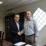 Τον Πρύτανη του Τ.Ε.Ι. Δυτικής Μακεδονίας  Στέργιο Γκανάτσιο επισκέφτηκε ο  Λάζαρος Μαλούτας