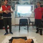 Στο χώρο του συλλόγου Μεταξιωτών Κοζάνης βρέθηκε τη Δευτέρα 15/10, η εκπαιδευτική ομάδα ΕΚΑΒ Κοζάνης, με αφορμή την παγκόσμια ήμερα επανεκκίνησης της καρδιάς (Φωτογραφίες)