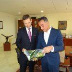 Επίσκεψη του Προξένου των ΗΠΑ στη Θεσσαλονίκη,  στον Περιφερειάρχη Δυτικής Μακεδονίας (Φωτογραφίες & Βίντεο)