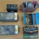 Συνελήφθησαν 3 άτομα στην Κοζάνη για κλοπή  συσσωρευτών ενέργειας από ορυχείο της Δ.Ε.Η. (Φωτογραφίες)
