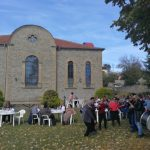 kozan.gr: Λαχταριστές τσιγαρίδες, με συνοδεία κρασιού, προσφέρθηκαν  στην γουρουνοχαρά στη Λούβρη Βοΐου  (Φωτογραφίες)