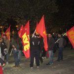 kozan.gr: Κοζάνη: Συγκέντρωση διαμαρτυρίας του ΚΚΕ, στην κεντρική πλατεία, με συνθήματα ενάντια στα σχέδια της κυβέρνησης για επέκταση και δημιουργία νέων αμερικανοΝΑΤΟικών βάσεων (Φωτογραφίες & Βίντεο)