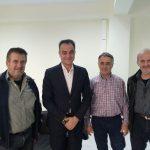 Συνάντηση της Διοίκησης του Αγροτικού Συνεταιρισμού Πύργων Εορδαίας  με τον Περιφερειάρχη Θ. Καρυπίδη