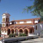 Τελετή των εγκαινίων του Ιερού Ναού Αγίου Γεωργίου Πολυρράχου την Κυριακή 4 Νοεμβρίου