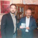 Επίσκεψη του Υφυπουργού  Εργασίας Νάσου   Ηλιόπουλου στο  Δημοτικό Κατάστημα   Εορδαίας  και συνάντηση με το Δήμαρχο Σάββα Ζαμανίδη (Φωτογραφίες)