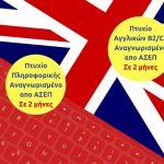ΕΛΚΕΔΙΜ Κοζάνης: Πτυχίο Αγγλικών και Πληροφορικής σε 2 μήνες