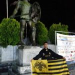 Ο Γιώργος Ζαχαριάδης της ΑΕΚ τερμάτισε στην 4η θέση στον Αυθεντικό Φειδιππίδειο Δρόμο