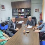 "Kυριάκος Μιχαηλίδης: ""Επίσκεψη στο Μαμάτσειο Νοσοκομείο Κοζάνης με σκοπό την ενημέρωσή μου από τον διοικητή του νοσοκομείου"""