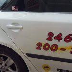kozan.gr: Κοζάνη: Bανδαλισμοί σε δύο ταξί τηςmy taxi (Φωτογραφία)