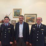 Εθιμοτυπική επίσκεψη του νέου Γενικού Περιφερειακού Αστυνομικού Διευθυντή Δυτικής Μακεδονίας στο Δήμαρχο Γρεβενών