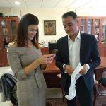 Συνάντηση Νοτοπούλου – Καρυπίδη στην Κοζάνη (Φωτογραφίες)