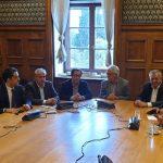 Mε τον Υπουργό Παιδείας, Έρευνας και Θρησκευμάτων, Κ. Γαβρόγλου, συναντήθηκανσήμερα, 14/11, οι Βουλευτές του ΣΥ.ΡΙΖ.Α. της Περιφέρειας Δυτικής Μακεδονίας