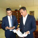 Επίσκεψη του Γενικού Προξένου της Κυπριακής Δημοκρατίας στον Περιφερειάρχη Θ. Καρυπίδη (Φωτογραφίες & Βίντεο)