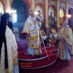 Με Αρχιερατική Θεία Λειτουργία  πανηγύρισε την ανακομιδή των λειψάνων  του Αγίου Γεωργίου του Τροπαιοφόρου η Μεσιανή (του παπαδάσκαλου Κωνσταντίνου Ι. Κώστα)