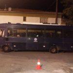 "kozan.gr: Αυξημένα μέτρα ασφαλείας έξω από τη δημοτική βιβλιοθήκη Κοζάνης στην εκδήλωση για τη «Συμφωνία των Πρεσπών», με τους Μαραντζίδη, Αρμακόλα και Τζίμα – Mικρός αριθμός ατόμων από τη διαδικτυακή ομάδα ""Πτολεμαίοι Μακεδόνες"" (Φωτογραφίες)"