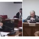 kozan.gr: Ένταση στο δημοτικό συμβούλιο Εορδαίας, παρουσία μελών του Σωματείου εργαζομένων της ΔΕΥΑΕ που ζήτησαν να συζητηθούν τα προβλήματα που αντιμετωπίζουν στην επιχείρηση – H Iωάννα Ανδρονικίδου τα έβαλε με τον πρόεδρο λέγοντάς του είσαι δια παραιτήσεως δημοτικός σύμβουλος και δύο φορές δεν εκλέχτηκες (Βίντεο 10′ – Αποκλειστικά πλάνα)
