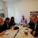 Συμμετοχή του Βουλευτή ΣΥΡΙΖΑ Π.Ε. Κοζάνης, Γιώργου Ντζιμάνη, στην σύσκεψη για τα προβλήματα στην παραγωγή και διάθεση του ροδάκινου