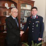 Συνάντηση του νέου Περιφερειακού Αστυνομικού Διευθυντή Δυτικής Μακεδονίας με τον Δήμαρχο Βοΐου Δημήτρη Λαμπρόπουλο (Φωτογραφία)