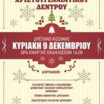 Tην Κυριακή 9 Δεκεμβρίου το άναμμα του Χριστουγεννιάτικου δέντρου στο Δρέπανο Κοζάνης