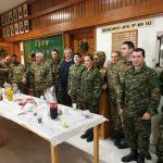 Την 9η ταξιαρχία πεζικού, την Πυροσβεστική Δυτικής Μακεδονίας και Κοζάνης, καθώς και την Αστυνομική Διεύθυνση Δυτικής Μακεδονίας και Κοζάνης, επισκέφτηκε σήμερα Δευτέρα 31/12, γι' ανταλλαγή ευχών, ο βουλευτής Γ. Ντζιμάνης