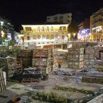 "kozan.gr: 29 Δεκεμβρίου 2015. Η κεντρική πλατεία της Κοζάνης στα ""σπάργανα"" της νέας της μορφής"
