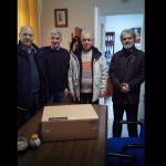 Έναν υπολογιστή προσέφεραν στην Παθολογική Κλινική του Μαμάτσειου μέλη του Δ.Σ του Περιφερειακού Σωματείου Συν/χων ΔΕΗ Δυτικής Μακεδονίας