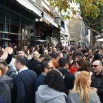 Με τα «Χάλκινα Ηχοχρώματα», διασκέδασαν το μεσημέρι, της παραμονής Χριστουγέννων, στο καθιερωμένο street party του Baccara bar στην Πτολεμαΐδα